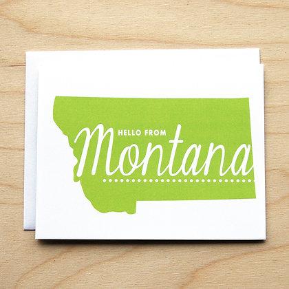Montana Hello