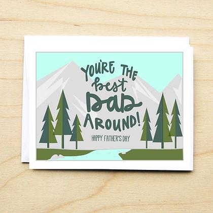 Best Dad Around - 6 Cards
