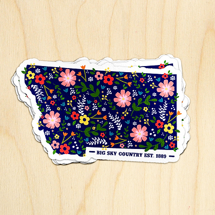 Floral MT Sticker