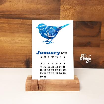 2022 Wildlife Desk Calendar