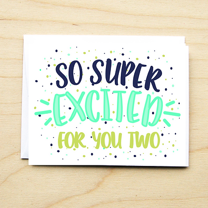So Super Excited for You - 6 Cards
