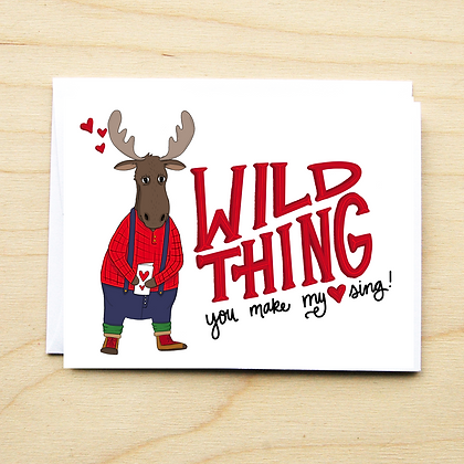 Wild Thing - 6 Cards