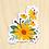 Thumbnail: Yellow Daisy - 10 Stickers