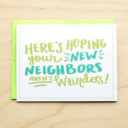 New Neighbors - 6 Cards