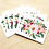 Thumbnail: Pink Floral - 2 Card Sets