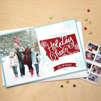Holiday Cheer - Photo Card