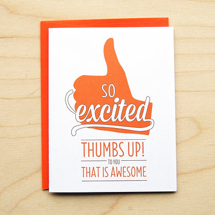 Thumbs Up - 6 Cards