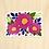 Thumbnail: Fuchsia Flower - 10 Stickers