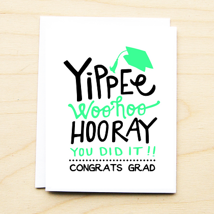 YIPPEE! Grad - 6 Cards