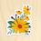 Thumbnail: Yellow Daisy Sticker