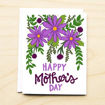 Purple Floral Mom