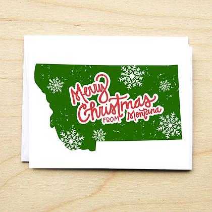 Montana ChristmasMT - 6 Cards