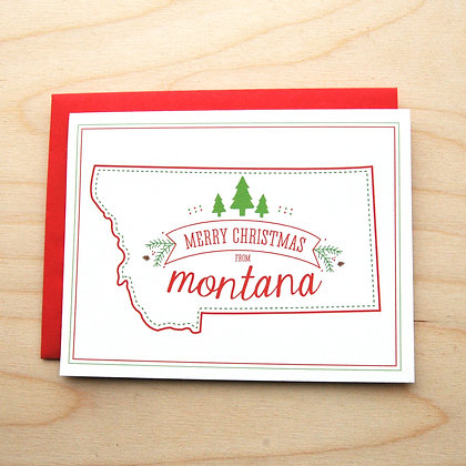 MT Christmas Holiday Card - 6 Cards
