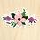 Thumbnail: Posie Flowers - 10 Stickers