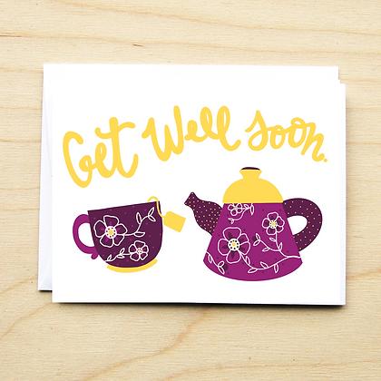 Get Well Tea - 6 Cards