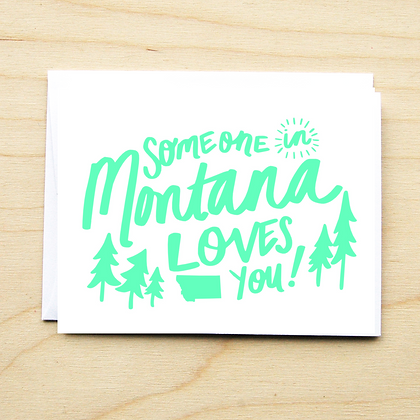 Someone in MT Loves You - 6 Cards