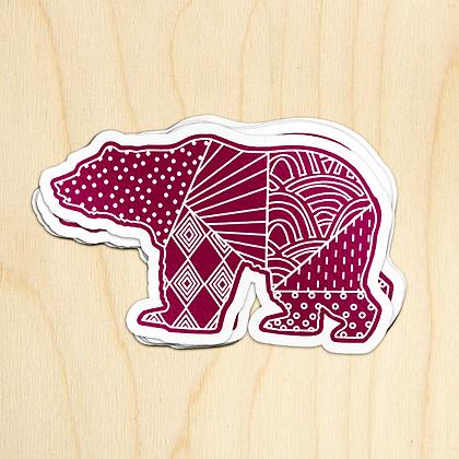 Bear Sticker - 10 Stickers