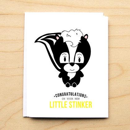 Stinker Baby - 6 Cards