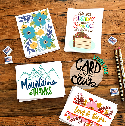 Card Club - KTF Design Co..