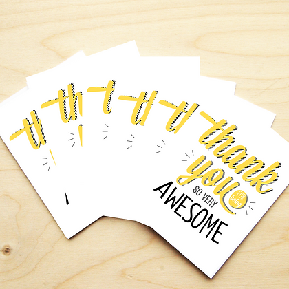 Being Awesome - 2 Card Sets