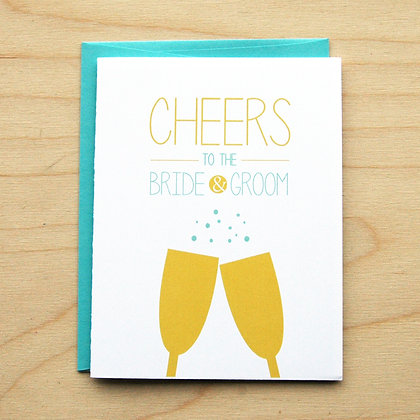 Cheers Wedding - 6 Cards
