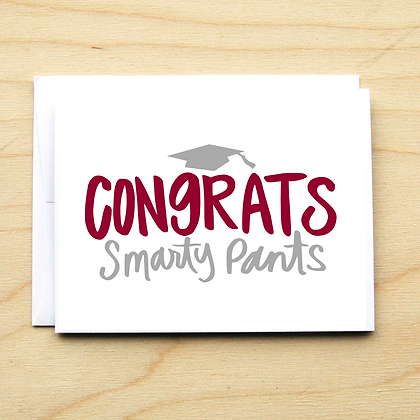 Smarty Pants - 6 Cards