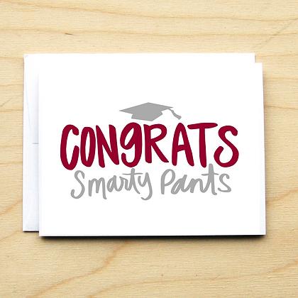 Smarty Pants Grad