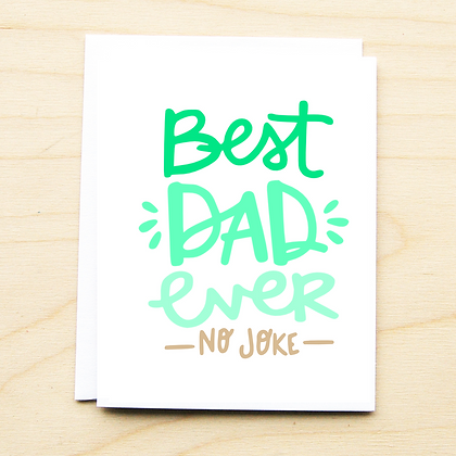 Best Dad Ever - 6 Cards