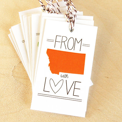 Love from MT Gift Tags