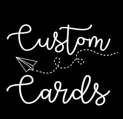 CUSTOM Cards - Wholesale