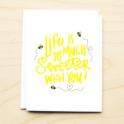 Sweeter with You - 6 Cards