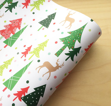 Woodland - Holiday Gift Wrap