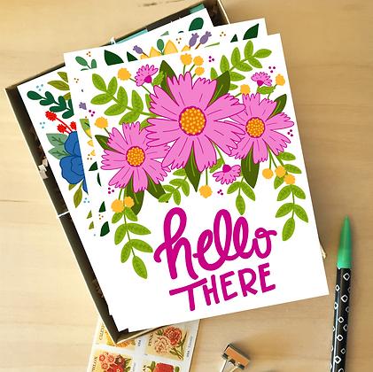 Floral Card Stash