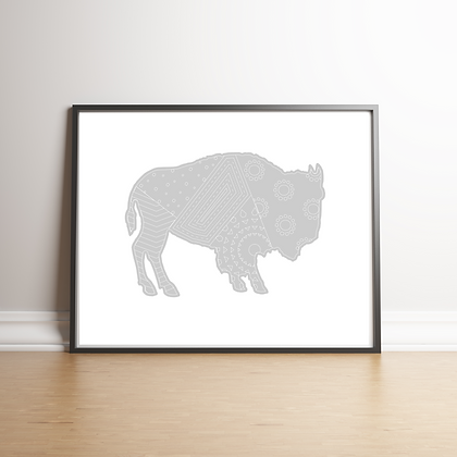 Buffalo - 6 Art Prints