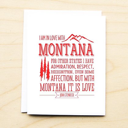 Montana Steinbeck Quote Card