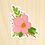 Thumbnail: Pink Floral Sticker
