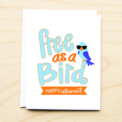 Free as A Bird - 6 Cards