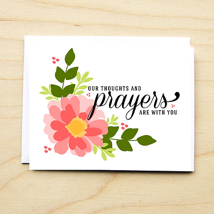 Thoughts & Prayers - 6 Cards