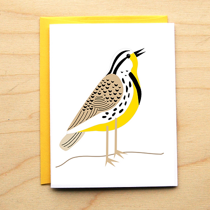 Meadowlark - MT State Bird - 6 Cards