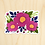Thumbnail: Fuchsia Flower Sticker