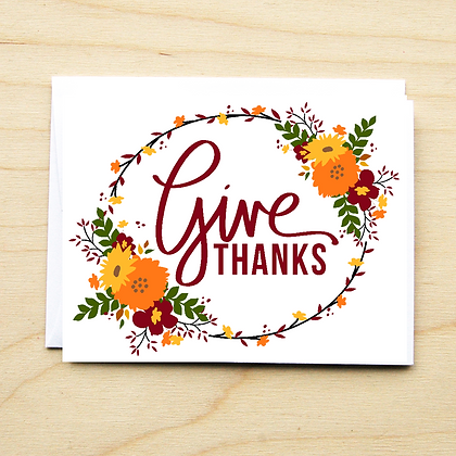 Give Thanks - 6 Cards