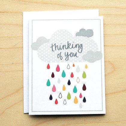 Rain Sympathy - 6 Cards