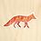 Thumbnail: Fox Sticker - 10 Sticker