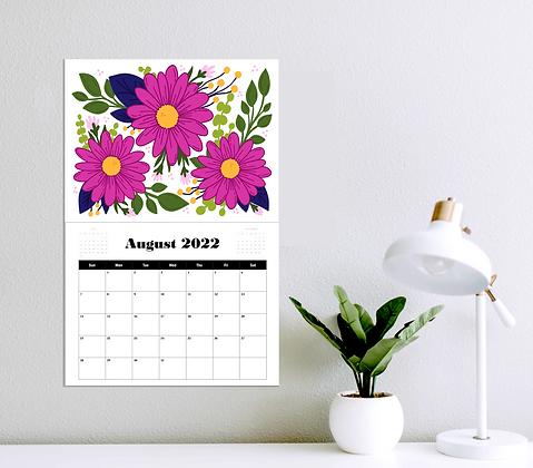 2022 Floral Appointment Calendar