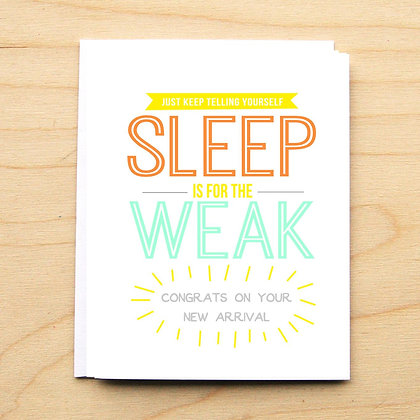Sleep is for the Weak - 6 Cards