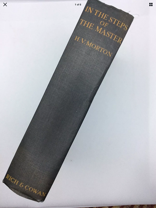 In the Steps of the Master by HV Morton