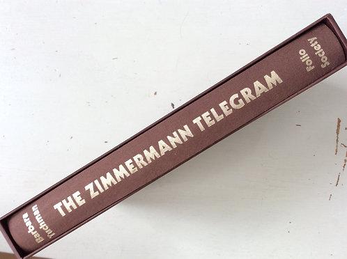 The Zimmermann Telegram by Barbara Tuchman Folio Society