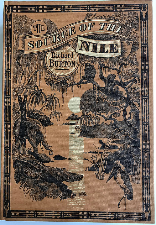 The Source of the Nile by Richard Burton