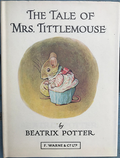 The Tale of Mrs Tittlemouse By Beatrix Potter
