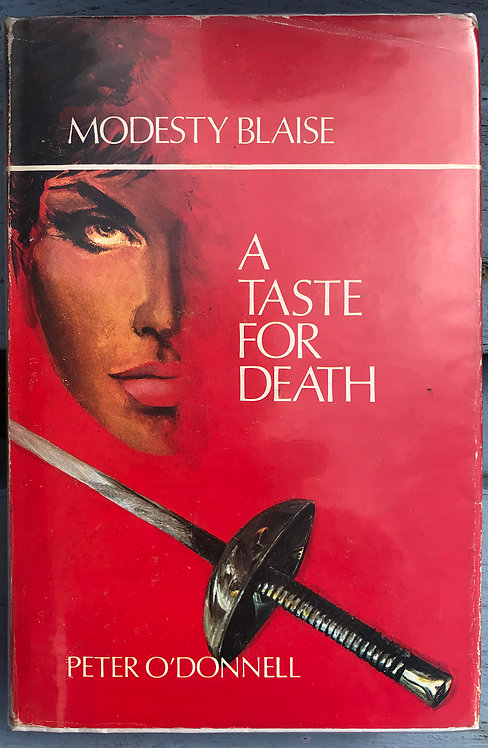 A Taste for Death Peter O'Donnell
